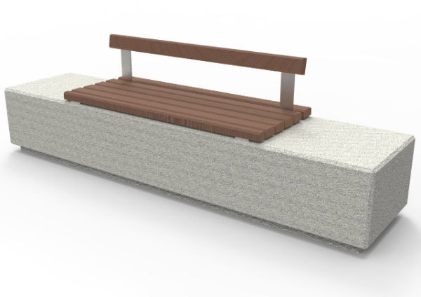 Monia Concrete Bench