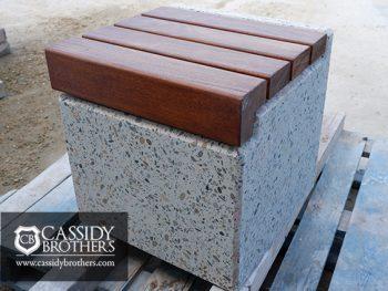 cheshire seat exposed concrete finish
