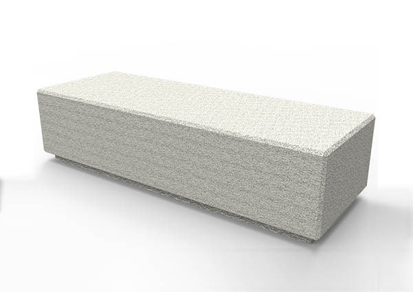 Rossa Concrete Bench