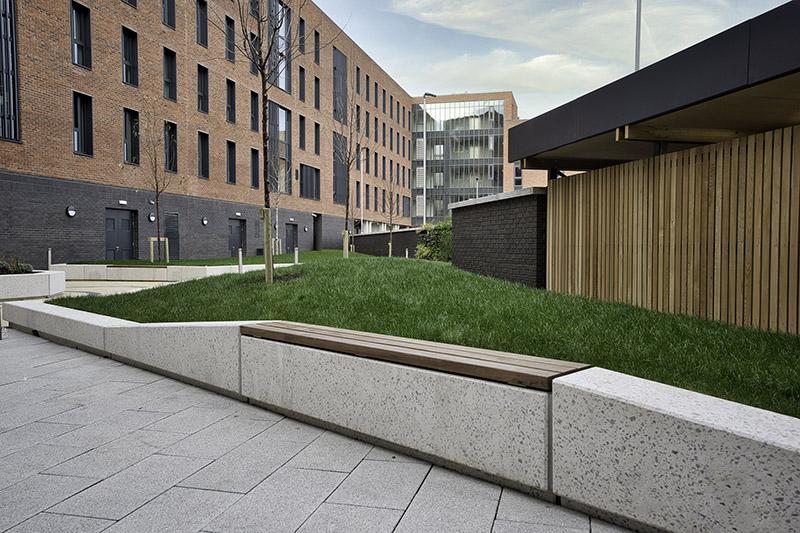 Ballymun Concrete benches